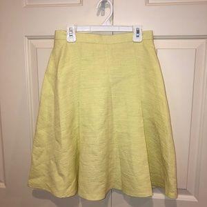 yellow Club Monaco skirt